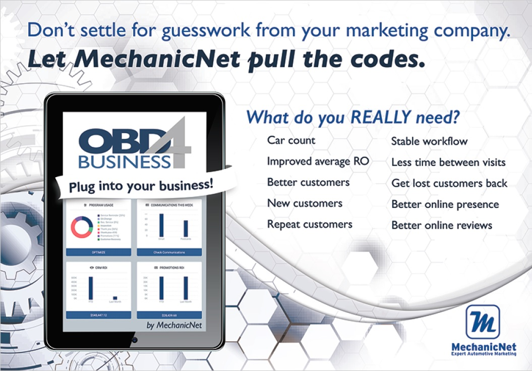 OBD4 Business - pull the codes on marketing